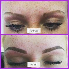 #hairstroke #tattooedeyebrows #eyebrows #semipermanentmakeup #hairstrokeeyebrows