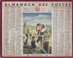 calendrier 1949
