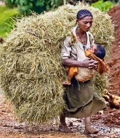 hard life in Ethiopia