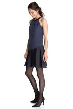 Esprit : Vestido sedoso con detalle de abalorios en la Online-Shop