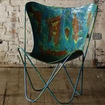 IRON BUTTERFLY CHAIR - 4 COLORS AVAILABLE