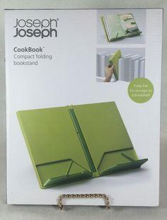Chef's Cookware Joseph Cookbook Compact Folding Bookstand Green Dark Bar Kitchen   eBay