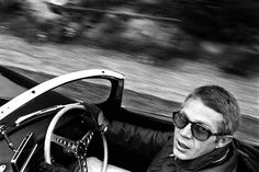 Steve McQueen. No more need be said. He was the King of Cool and that is all there is to it.