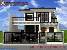 Small zen house design small modern house modern concept for luxurious zen house designs city small . Zen House Design, House Balcony Design, Two Story House Design, Cool House Designs, Modern Zen House, Modern Bungalow House, Small Modern Home, Modern House Plans, Style At Home