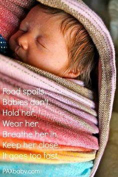 Food Spoils. Babies Don't. #freedomtogether #babywearing #attachmentparenting - Explore the World with Travel Nerd Nici, one Country at a Time. http://TravelNerdNici.com
