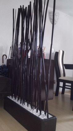 Biombo bambú