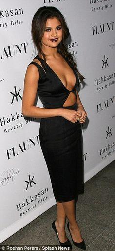 Flaunt cover girl Selena Gomez for the magazine's En Garde issue launch party at Hakkasan Beverly Hills Thursday...