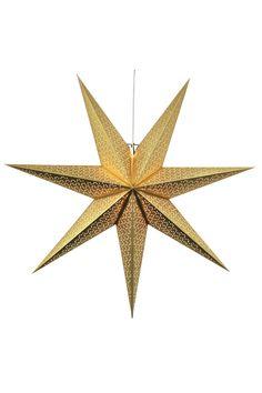 Star Trading Adventsstjärna Dot Gold Christmas, Home Office Furniture, Ceiling Fan, Dots, Table Lamp, Stars, Lighting, Products, Pedestal