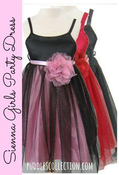 Sienna Girls Party Dress