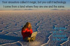 Technology magic on a salt pan