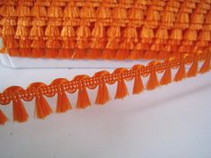 5 yards Mini Fringe Trim Tassel Trim Number 38 Bright