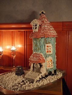 Moomin gingerbread house of 2012 by Kreativatanten