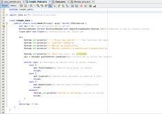 3.-JAVA - Objetivo del programa: El programa realizara el cálculo total de toda la cadena tecleada por el usuario, así como la conversión a mayúsculas