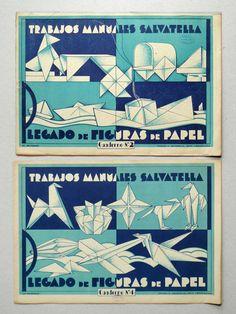 Spanish origami books.