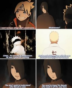 Sasuke forgot to mention that he also relied on his friends, not just himself.