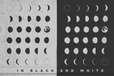 30 Hand-Drawn Moon Phases - Illustrations - 2