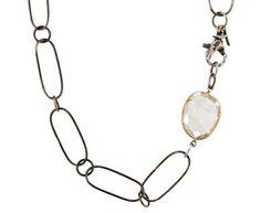 Beth Orduna   Rutilated Quartz Necklace in Designers Beth Orduna Necklaces at TWISTonline