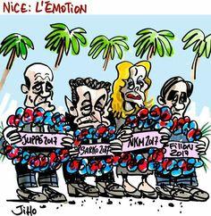 Jiho ( 2016-07-20?) France: Nice attack attentat. .  Émotions