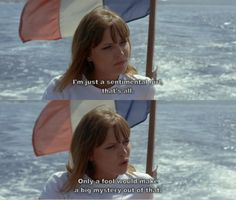 "Anna Karina in Jean-Luc Godards ""Pierrot le Fou"" (1965)"