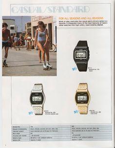 Casio Watch and Clock Catalogue 1984 | Retronaut