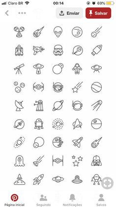 Doodle Ideas To try In Your Bullet Journal/ Decorate your Bujo with these doodles. From cute cactus doodles, to sea life, to cute little food. Dress up your Bullet Journal! Mini Drawings, Small Drawings, Easy Drawings, Tattoo Drawings, Little Tattoos, Mini Tattoos, Cute Tattoos, Small Tattoos, Tatoos