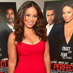 Movies: The Perfect Guy's Sanaa Lathan discusses male eye-candy and finding the right guy