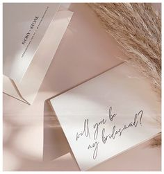 """Wedding Ready Co. on Instagram: """"// BRIDESMAID PROPOSALS // 💕 Love notes to your chosen ones to stand with you on you Wedding day - and all the days in between and after!…"""" Bridesmaid Proposal, Love Notes, Bridal Gifts, Wedding Stationary, Cool Names, On Your Wedding Day, Ivory, Stone, Instagram"""