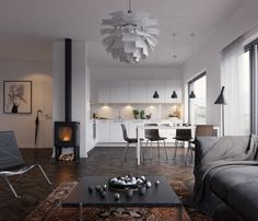 Scandinavian interior on Interior Design Served