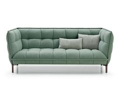 TUFTED UPHOLSTERED FABRIC SOFA HUSK SOFA HUSK COLLECTION BY B&B ITALIA | DESIGN PATRICIA URQUIOLA