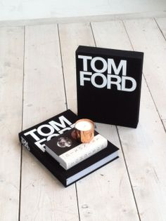 Gorgeous Tom Ford book and copper Tom Dixon candle, used as a prop in Sarah and Bendrix shoot.  For more head over to :sarahandbendrix.com #tomford #tomdixon