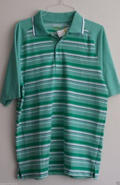 #ebay  men Izod Golf Men POLO shirt Size M Green with Stripes DRY QUICK technology NWT withing our EBAY store at  http://stores.ebay.com/esquirestore