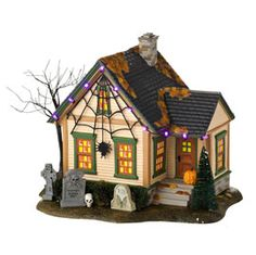 """Department 56: Product Search Results - """"The Spider House"""""""