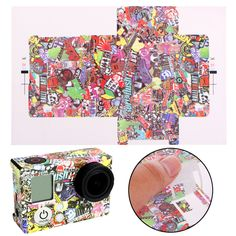 >> Click to Buy << New Camera Accessories Kaleidoscope Paster Adhesive Bag Skin Sticker Mount 15x10cm #Affiliate