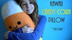 Kawaii Candy Corn Pilllow/Plush DIY Tutorial