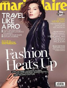 VK is also featured in Indonesia, Marie Claire!