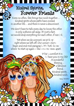 Kindred Spirits, Forever Friends (with Story) – Gifty Art – Suzy Toronto: Gifts for Women Soul Sister Quotes, Bff Quotes, Daughter Quotes, Best Friend Quotes, Funny Quotes, Friend Sayings, Sister Poems, Friend Poems, Card Sayings