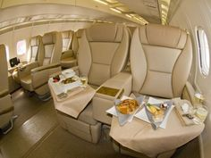 Fly first class