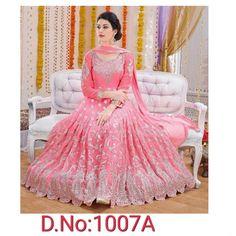 040e9581fc Party Grown - Indian Catalog Bangladeshi Copy - Baby Pink - D.NO.1007A