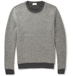 Club Monaco - Reversible Knitted Wool Sweater|MR PORTER