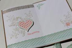 """Etwas ganz Besonderes habe ich meiner Mama zum Geburtstag gebastelt.   Eine """"einfache"""" Geburtstagskarte ist auf Dauer ja auch langweilig ;-..."""
