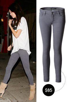 DSTLD Low Rise Ankle Skinny Jeans, $85; dstldjeans.com - ELLE.com