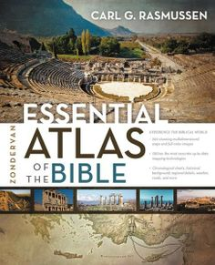 The Zondervan Essential Atlas of the Bible by Carl G. Rasmussen is a concise, full-color atlas filled with stunning multidimensional and three-dimensional maps, photos, and charts designed to help you better understand the history and places of the Bible and its world.