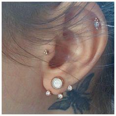 Pamela Love earrings #earrings #ink