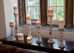 Candlestick - - Hicks and Hicks Candlesticks, Decorative Items, Lanterns, Living Spaces, Art Pieces, Candle Holders, Interior, Decorative Objects, Artworks