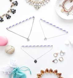 Travel tip: use straws to prevent your necklaces from tangling. Read on for packing tips for jewelry