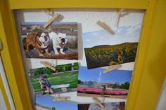 DIY Cómo convertir una ventana en álbum de fotos