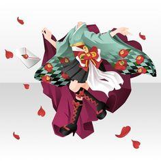 Anime Kimono, Anime Dress, Kimono Outfit, Kimono Fashion, Character Inspiration, Character Design, Chibi Hair, Clothing Sketches, Cocoppa Play