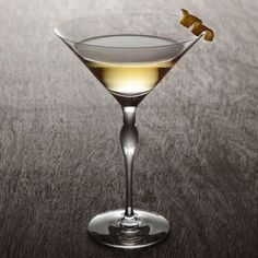 THE DREAMY DORINI SMOKING MARTINI Contributed by Audrey Saunders INGREDIENTS: 2 oz Absolut Vodka .5 oz Laphroig Single Malt Scotch Whisky 1 dash Pernod Glass: Martini Garnish: Lemon twist