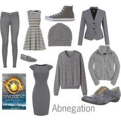 Abnegation clothes