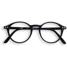 Black round frame reading glasses (125 BRL) ❤ liked on Polyvore featuring accessories, eyewear, eyeglasses, glasses, accessories - glasses, reading eye glasses, matte glasses and reading glasses